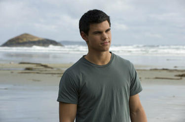 Taylor Lautner in &quot;The Twilight Saga: New Moon.&quot; 